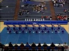 Round 2 of Lamphere High School's 2001 MCCA Championship performance.