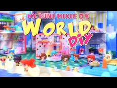DIY - How to Make: My Mini Mixie Q's World - Miniature Play Set - Doll Crafts - 4K - YouTube