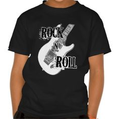 rock n roll guitar tee shirts T Shirt, Hoodie Sweatshirt