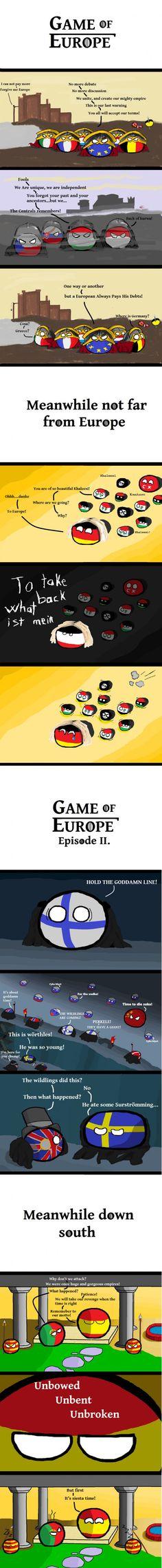 Game of Europe Season I.