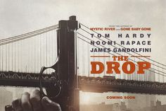 THE DROP  James Gandolfini and Tom Hardy Star