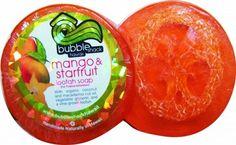 Bubble Shack Hawaii - Mango and Starfruit Loofah Lather Glycerin Soap - Lilly's Bathcarry