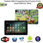 "9"" inch Android 4.4 Quad Core Tablet PC MID 8GB Dual Camera Bluetooth Snow White"
