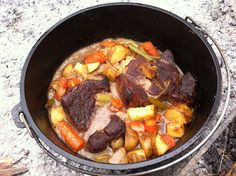 Campfire Cooking with a Dutch Oven