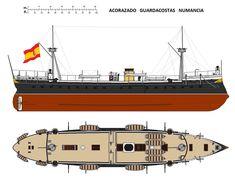 Acorazado guardacostas Numancia 1863-1912