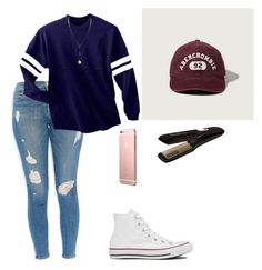"""favorite team"" by shakarajam on Polyvore featuring Frame Denim, Converse, Abercrombie & Fitch and Rowenta"
