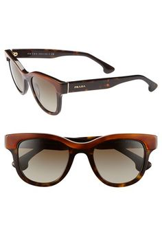 Prada 'Crow' Sunglasses available at #Nordstrom