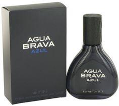Antonio Puig Agua Brava Azul Eau De Toilette Spray for Men (3.4 oz/100 ml)