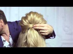 Прическа в стиле Брижит Бардо! (Урок №8) - YouTube