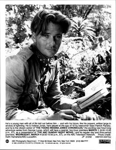Sean Patrick Flanery in Young Indiana Jones.