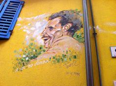 #Rimini, #graffiti, #Fellini, #italy