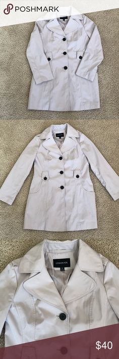 London Fog Trench Coat Good condition, great for layering! London Fog Jackets & Coats Trench Coats