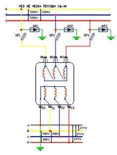 Conexión de transformador trifásico - FARADAYOS