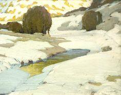 Victor Higgins » Winter Landscape