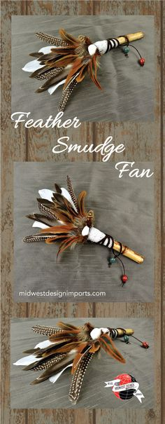 Smudge fans are part of the sacred process of smudging with sage or other herbs. Having a beautiful fan to use in ritual makes the smudging process more ceremonial...