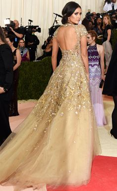 Met Gala 2016: Nina Dobrev in Marchesa - Every Gorgeous Look on the Manus x Machina Red Carpet   People