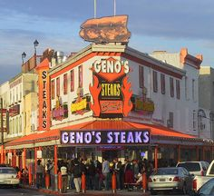 Gino's Steaks in Philadelphia (city of brotherly love), US