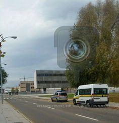 #Leonesp. Radar DGT en c/ Santos Ovejero donde la autoescuela de Eras de Renueva