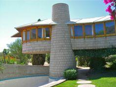 David Wright House / 5212 East Exeter Boulevard, Phoenix, AZ  1950-1952…