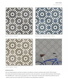cement tile traditional square alhambra