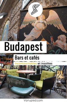 Bars et cafés insolites et agréables à Budapest Illustrations, Parcs, Monuments, Painting, Beach Bars, Originals, Tourism, Illustration, Painting Art