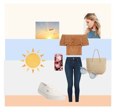 """outfit"" by alexandrabarsuk on Polyvore featuring мода, J Brand, Urban Outfitters, Vans, Target и Christian Dior"