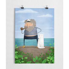 Ahoy - Art print  (A3)