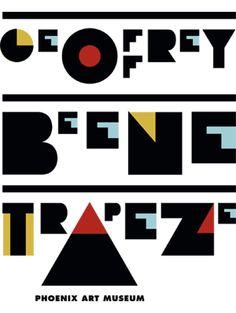 P22 Constructivist used on Pentagram design for Geoffrey Beene