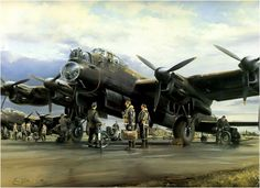 Pathfinder Force, by Robert Taylor (Avro Lancaster)