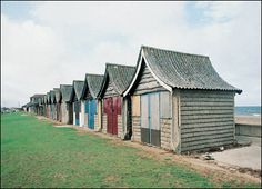 Beach huts, Mablethorpe, Lincolnshire  © English Heritage