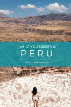 Peruvian Sites (Minus Machu Picchu) http://TravelBreak.net