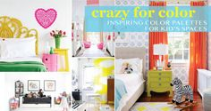 Inspiring color palettes for kid spaces  crazy-for-color-