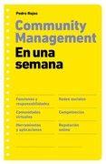 Community Management en una semana de Pedro Rojas -9788498751277
