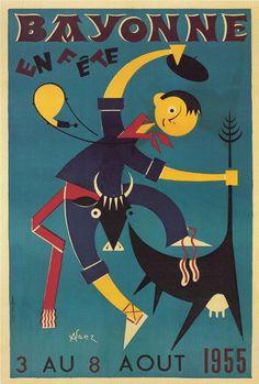 vintage poster illustration