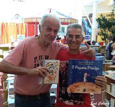 Com o Ilustrador Eduardo Vetillo