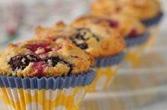 Buttermilk Berry Muffins are absolutely bursting with berries and you can use fresh or frozen. They have a beautiful golden brown crust and are absolutely delicious. From Joyofbaking.com With Demo Video