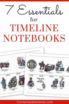 Ready to make a timeline notebook? Find out the 7 essential supplies you need to make a history timeline notebook! Don't miss the FREE printable timeline notebook pages! Best Picture For W Middle School History, World History Lessons, American History Lessons, History Education, Teaching History, Education Uk, History Activities, History Quotes, History