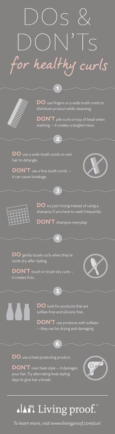 awesome Got naturally curly hair? Here are the do's and don'ts for keeping your ...                                                                                                                                                                                 More