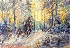 Татьяна Домбровская Этюд: акварель, 2014 http://www.arts-e.ru/ekspressiya/431-sdc16350