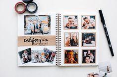 Album Diy, Diy Album Photo, Travel Photo Album, Disney Photo Album, Custom Photo Albums, Diy Album Ideas, Diy Photo Books, Diy Travel Album, Travel Photos