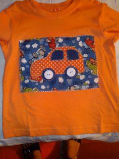 T shirt aplicação em tecido
