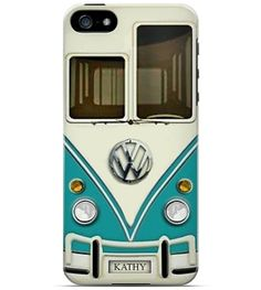 Personalized  Cell Phone Case. VW Bus. .I by TheGirlyGirlCaseShop, $22.99