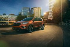 2017 Ford Escape Titanium in Canyon Ridge with Sport Appearance Package