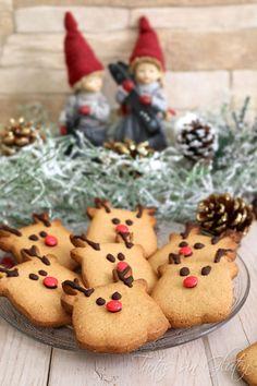 ¿Queréis hacer galletas esta Navidad con vuestros peques? Estos renos seguro que os darán mucho juego en la cocina con los peques de la cas...