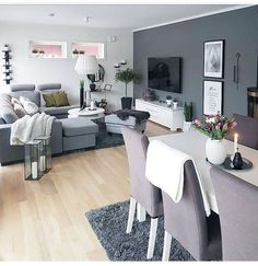 Best Modern Living Room for Your Home. We have put together all of our favourite modern living room design ideas and inspirations for the season so you can be inspired to get the perfect look. All the modern living room design ideas you'll need. Living Room Grey, Formal Living Rooms, Interior Design Living Room, Home Living Room, Living Room Designs, Living Room Decor, Modern Living, Interior Livingroom, Minimalist Living