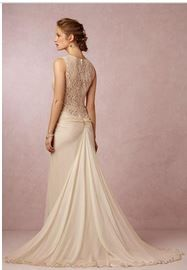 Shop our gorgeous collection of low back and open back wedding dresses. A backless wedding dress is a classic style you'll love for years to come. Wedding Dress Low Back, Unique Wedding Gowns, Sheer Wedding Dress, Stunning Wedding Dresses, Wedding Dresses For Sale, Bridal Dresses, Bridesmaid Dresses, Wedding Ideas, Dress Lace