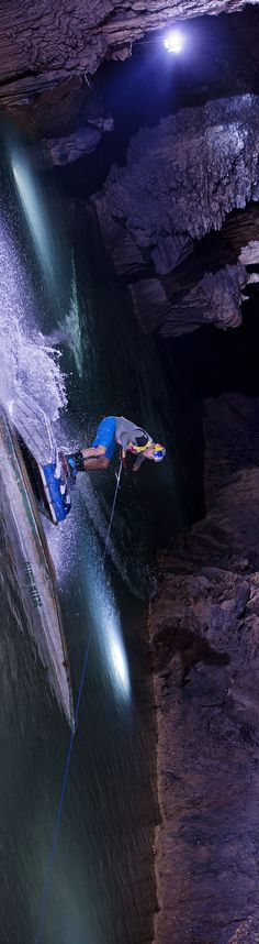 Wakeboarding goes underground in Lebanon. #redbull #givesyouwings