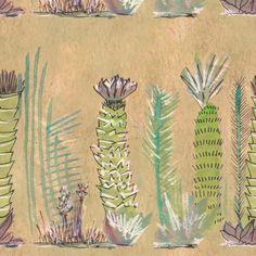 Cactus Print fabric by rosemoo on Spoonflower - custom fabric
