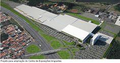 Projeto para ampliação do Centro de Exposições Imigrantes