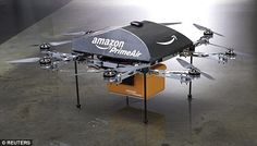 Amazon 'begins testing its delivery drones in Cambridge'